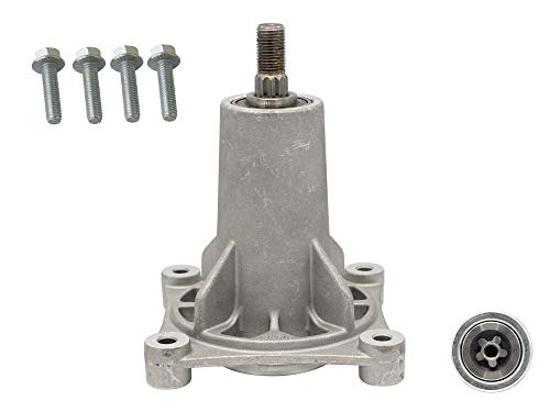 SECURA Messerturm links kompatibel mit Gardol 155107HRB Rasentraktor
