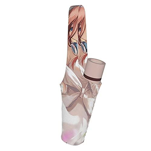 The Quintential Quintuplets Yoga Mat Bag Diseño elegante con almacenamiento multifuncional Poets Yoga Tote Sling Gym Bag, Se adapta a la mayoría de los tamaños de Yoga Mat Tote Bags de 35 pulgadas