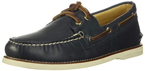Sperry Men's Gold A/O 2-Eye Roustabout Boat Shoes Blue Size: 13.5 UK