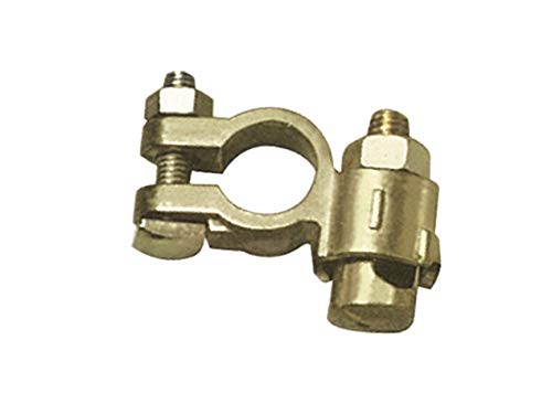 GYS - 1 cosse négative batterie double serrage VL - Pour câble 10 mm-35mm²