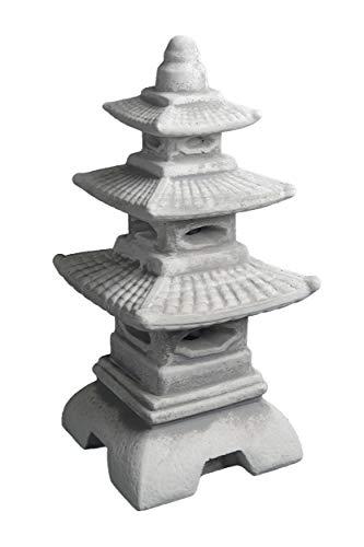 gartendekoparadies.de Top Model Massive Pagoda di Pietra Giapponese Lanterna Fatta del Cast in Pietra frostfest