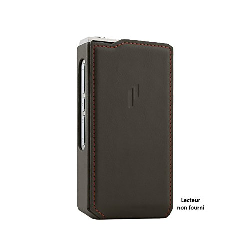 Leather Case for PLENUE R, PLENUE R2 / Shock Absorbing Cover Case, Anti-Slip Grip
