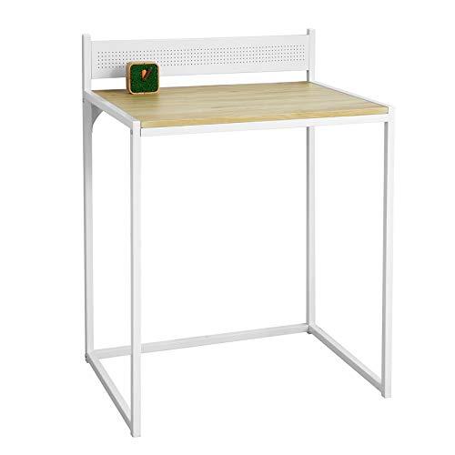 SoBuy Scrivania Piccola salvaspazio Tavolo scrivania per PC L70*P50*A75 cm Stile Vintage (FWT66-WN)