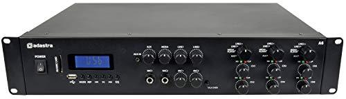 Multizone A6 Tri Stereo Amplfier 6x200W