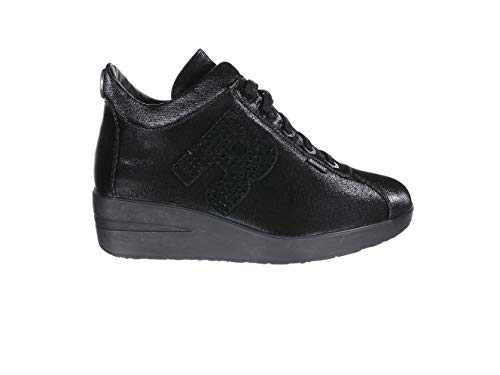 Ruco Line Sneaker Zeppa 200 Tessil 68878 Nero EU 41