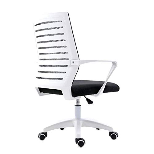 N/Z Daily Equipment Computer Chair Home Office Lift Swivel Chair Conference Staff Seat Lazy Game Backrest Chair Office Chair White 63cm*63cm*90cm