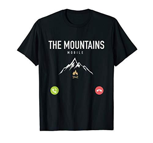 Berge nennen Bergsteigen Trekking T-Shirt