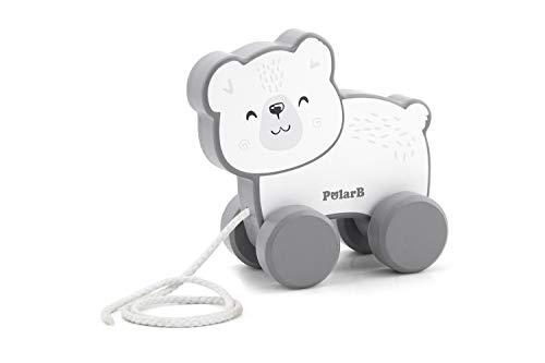 Polar B(ポーラービー) Polar B ポーラービー プルトイ しろくま 出産祝い お誕生日 赤ちゃん プレゼント ギフト TYPR44001