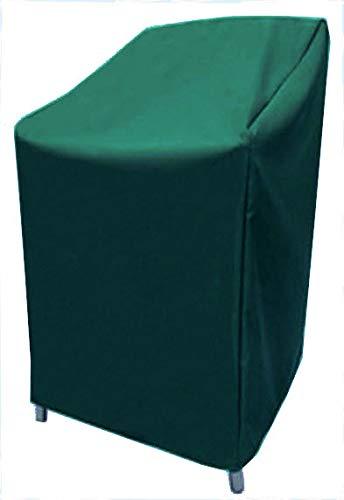 HBCOLLECTION Housse Respirante pour chaises ou Fauteuil de Jardin (unité ou empilés) 90x80cm