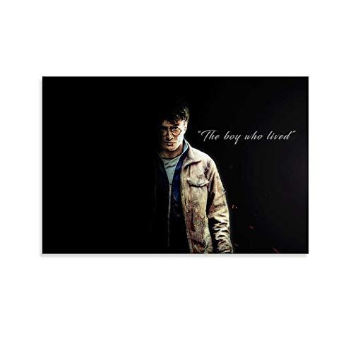 DRAGON VINES Póster e impresión moderna de Harry Potter, el mago del niño que vivió genial para decoración del hogar, 20 x 30 cm
