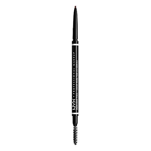 NYX Professional Makeup Micro Brow Pencil, Beidseitig mit ausdrehbarem Augenbrauenstift und Bürstchen, Vegane Formel, Farbton: Chocolate