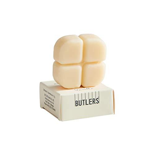 BUTLERS Smelts Duftwachs Vanille x 12 in Gelb - Duftwachswürfel im Set für Duftlampe - Aroma Wachs zum Schmelzen