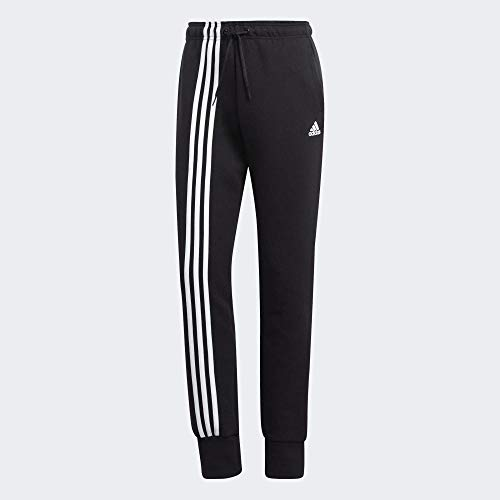Adidas Must Haves 3-Stripes J, Pantaloni Sportivi Donna, Nero (Black/White), M