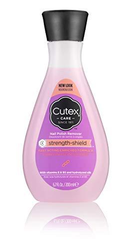 Cutex strength shield Nail Polish Remover 6.76 Fl Oz