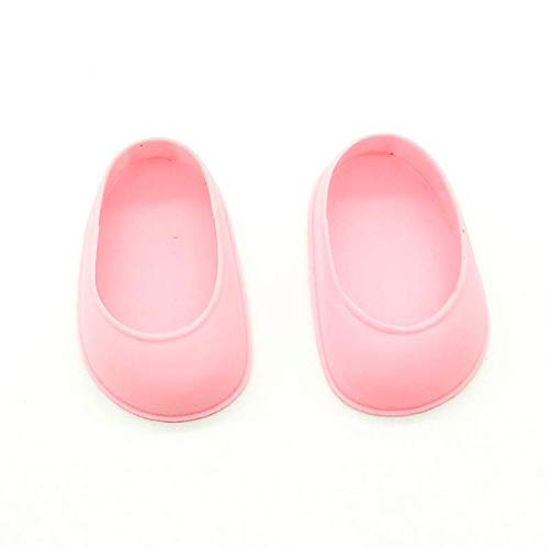 Folk Artesanía Par Zapatos para muñeca Tipo Nancy clásica Famosa Nuevo. No Apto para Nancy New. (Amarillo)