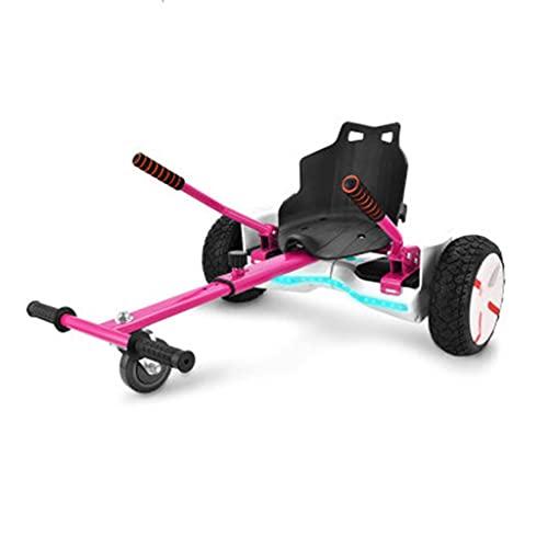 Hover Go Karts Carrito para Scooters eléctricos autoequilibrados Que se adaptan a los tamaños de Tablas flotantes de 6.5', 8' y 10', el Accesorio del Asiento transforma Sus Hoverbords en un Kart,