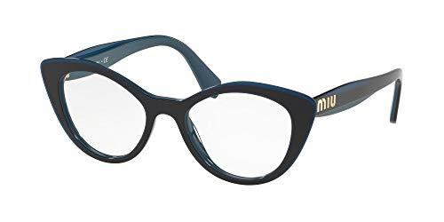 Miu Miu Brillen LOGO VMU 01R BLUE Damenbrillen