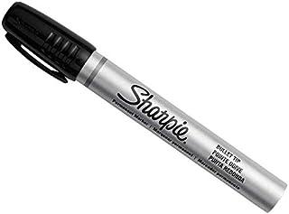 Sharpie Metal Barrel Permanent Marker Small Bullet Tip - Black