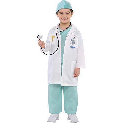 Christys Dress Up 999659/999660 Costume de médecin pour Enfant 4-6 Ans
