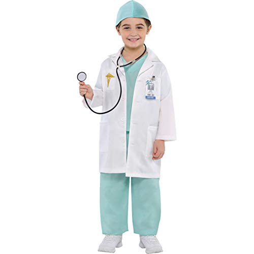 Christys Dress Up 999659/999660 Costume de médecin pour Enfant 4-6 Ans