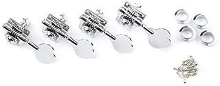Fender Standard-Highway One Series Bass Tuning Machines, 4 Pack, Chrome