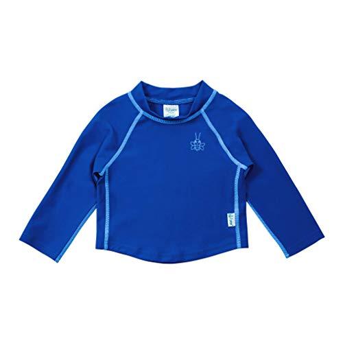 Ik speel. Shirt met lange mouwen Rash Vest (3-4 jaar, Royal Blue)