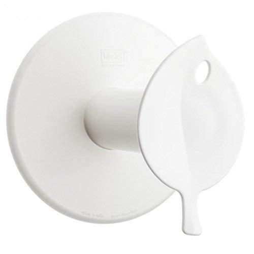 koziol WC-Rollenhalter  Sense,  Bio-Kunststoff, solid weiß, 13 x 12,7 x 12,7 cm