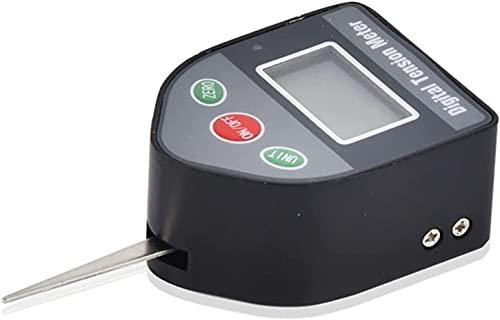 GPWDSN Dinamómetro 5N Tensiómetro Digital Portátil Interruptor electrónico montado en la Pared Dinamómetro Relé Probador de Contacto de presión Fortalecedor de Agarre Manual