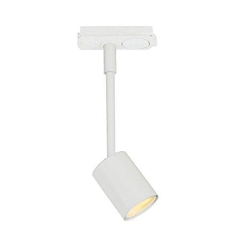 Nordlux Spot LED pour rail d'alimentation LINK EXPLORE, GU10, IP20, blanc, classe d'efficacité énergétique : A++ - A