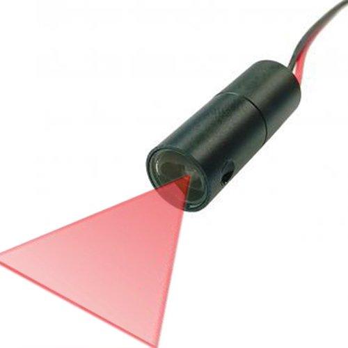 """Quarton Industrial 3D-Scanner Line Laser Module VLM-650-30 LPT10-D60 (Best Laser Line Accuracy 40"""", Fan Angle : 60°)"""