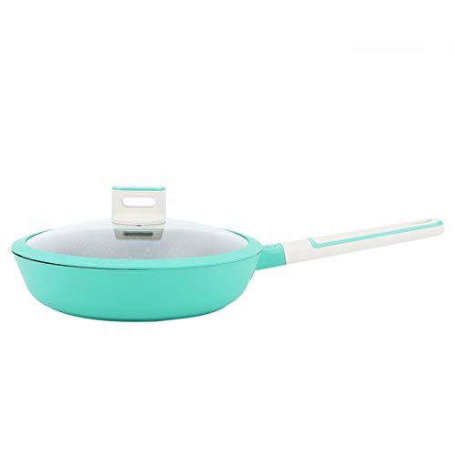 Fybida Casserole en Plastique phénolique Verte antiadhésive Casserole pour cuisinière à Induction pour cuisinière électrique pour cuisinière à gaz