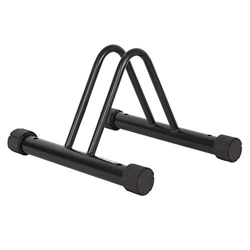 YOYIK Soporte para el suelo de la bici, soporte de estacionamiento para bicicletas de carretera o de montaña