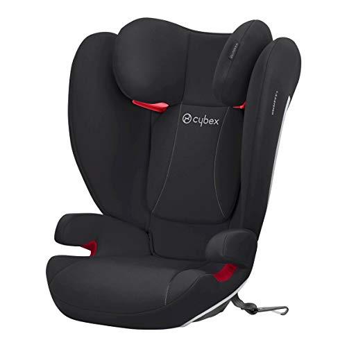 CYBEX Silver Kinder-Autositz Solution B-Fix, Für Autos mit und ohne ISOFIX, Gruppe 2/3 (15-36 kg), Ab ca. 3 bis 12 Jahre, Volcano Black