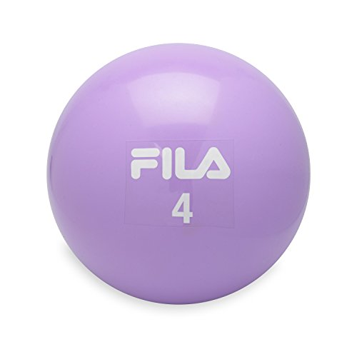FILA Accessories Weighted Toning Soft Medicine Ball, 4lb