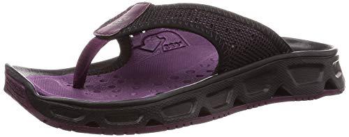 Salomon RX Break 4.0 W, Calzado de recuperación Mujer, Morado/Negro (Potent Purple/Black/Black), 40 2/3 EU