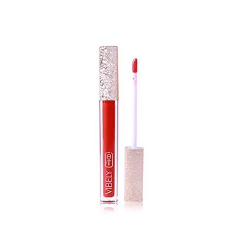Vovotrade VIBELY Tube En Verre Miroir Lip Glaze Rouge à lèvres Explosion brillant à lèvres nacré hydratant 1PC Temptation 3D Aurora Lips Mode Cosmétiques 2019 Nouvelle Imperméable à l'eau Étoilé