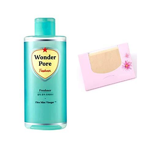 SoltreeBundle Wonder Pore Freshner 16.9 Oz/500Ml with SoltreeBundle Natural Hemp Paper 50pcs
