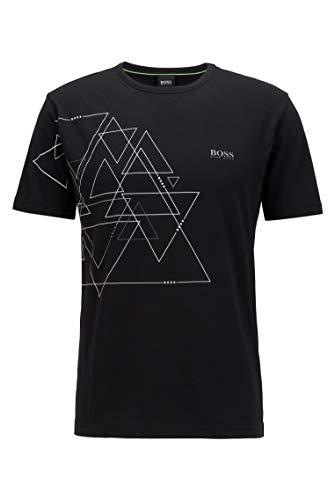 BOSS Herren Tee 3 Shirt, Black (1), XL EU