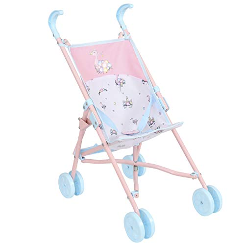 HTI Toys & Games BabyBoo Single Buggy Stroller | Childrens Baby Doll Pushchair Stroller Toy Great For Girls & Boys 18 Months+