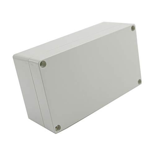 Shuxin Gehäuse für Elektronik-Projekt-Box, wasserdicht, Kunststoff, 158 x 90 x 60 mm, Weiß