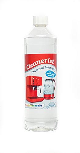 Cleanerist - Concentrado antical para cafeteras automáticas y máquinas de café   Adecuado para todas las marcas conocidas   Eliminador de cal extra profundo – 1000 ml