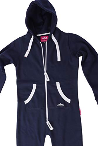 Finchgirl Damen Jumpsuit Overall Navy - 4