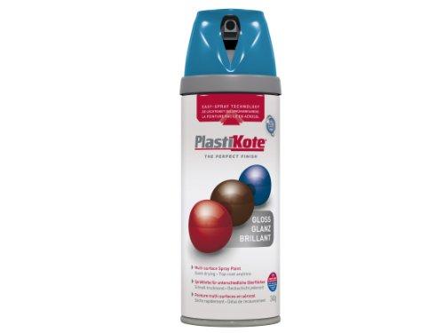 Plasti-kote 21117 400ml Premium Spray Paint Gloss - Exotic Sea