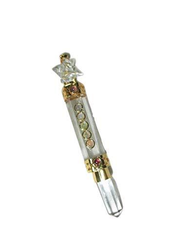 Brilliant Fort Worth Mall Crystal Quartz Merkaba Selling Chakra Wand Stick Healing Mini