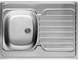 Einbauspüle Edelstahl Spülbecken Küchenspüle Edelstahlspüle WaschbeckenStol Links