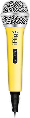IK Multimedia iRig Voice microfoon voor iOS/Android geel