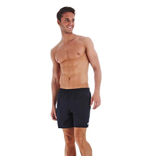 Speedo Solid Leisure Short de bain Homme Bleu Marine FR : M (Taille Fabricant : M)