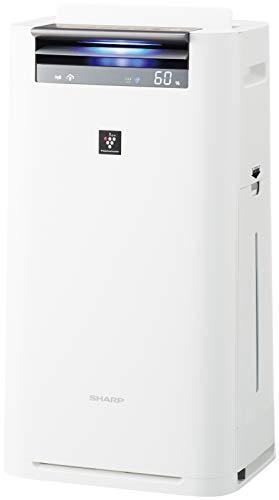 シャープ プラズマクラスター25000搭載 加湿空気清浄機 ホワイト KI-JS50-W