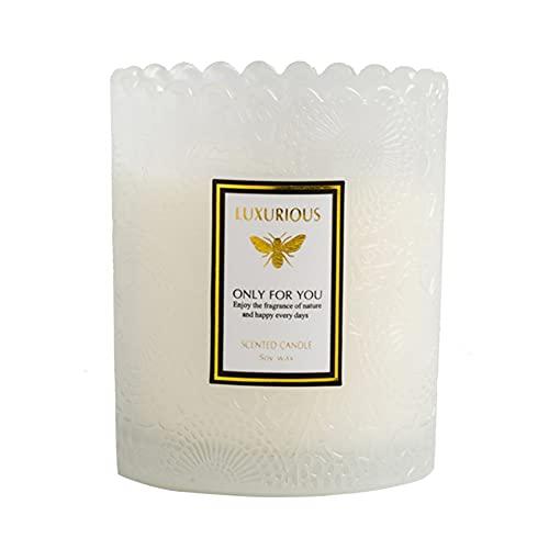 Velas de aromaterapia para mamá, juego de regalo para mujeres, cera de soja orgánica natural, velas de relajación con 4% aceites esenciales botánicos