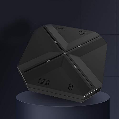 SUNERLORY Game Controller Met Gebruikershandleiding Universele Combinatie Zwart Multifunctioneel Toetsenbord Muis En Speel USB Poort Computer Bedraad Mobiele Converter Adapter Voor Schakelaar